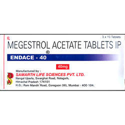 Samarth Megestrol Acetate Tablets IP 40 Mg, 10 Tab ,  for Clinical
