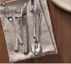 Hammered Cutlery Set