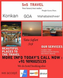 SUV Tour Car Rental Services in Pune