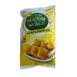 Sundrop Healthy World Sunflower Oil, Packaging Type: Pouched, Packaging Size: 1 litre