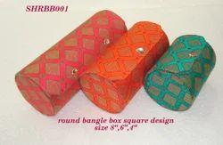 Round Bangle Box