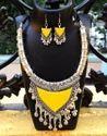 Glass Bead Oxidized Metal Jewellery Set