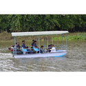 Flat Bottom Boat With Canopy