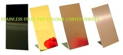 Stainless Sheet PVD Colour Coated Sheet
