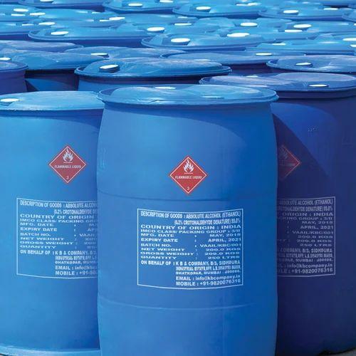 Denatured Ethanol Alcohol