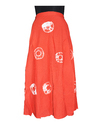 Shibori Design Rapron Skirts