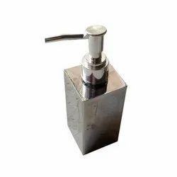 SS Rectangular Shape Soap Dispenser