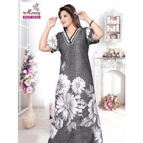 laest technology unbeatable price special section Long Cotton Nightgown