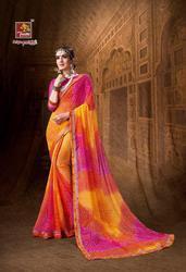 Priyaparidhi Raj Mohini Vol-2 Series 86571-86580 Stylish Party Wear Georgette Saree