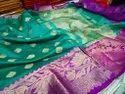 Crystal Silk Zari Woven Saree