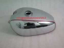 New Panther  M100 M120 Chrome And Silver Painted Gas Fuel Petrol Tank