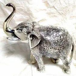 Rawsome Shack Oxidised Elephant Statue