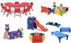 Multicolor FRP Kids Playschool Furniture
