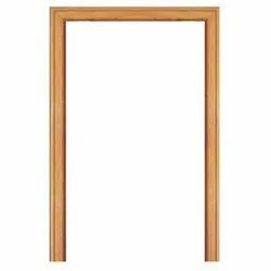 Rectangular Brown Wooden Door Frame, For Home And Office