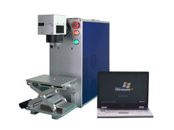 Semi-Automatic And Automatic Portable Fiber Laser Marking Machine