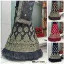 Exclusie Casual Wear Net Embroidered Lehenga Choli