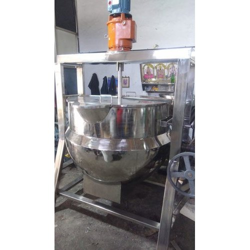 Oil Heated Jacketed Sugar Melting Mixing And Tilting Kettle