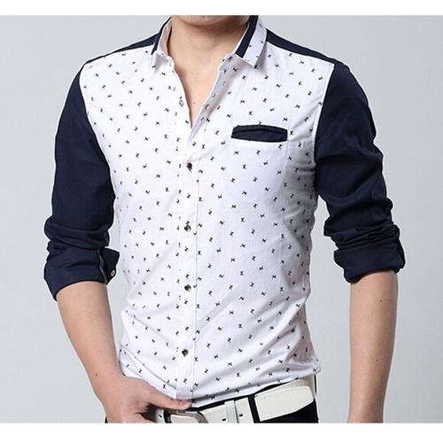 0120dae0 Cotton Printed Casual Shirt, Rs 350 /piece, Sparrk Fashions | ID ...