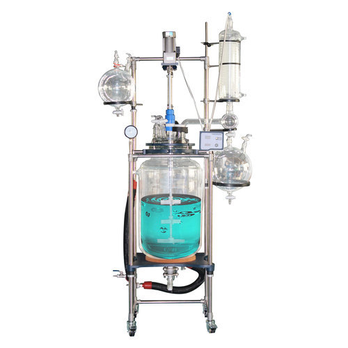 Gallon Jacketed Glass Reactor