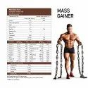 Mass Gainer Strawberry Milkshake 1 kg