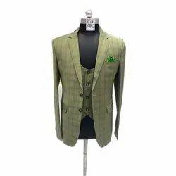Party Mens Check Designer Suit