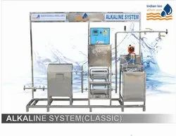 Alkaline water treatment plants