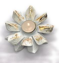 AuraDecor Lotus T Light Holder