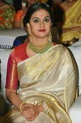 Bridal Saree, Hand Made