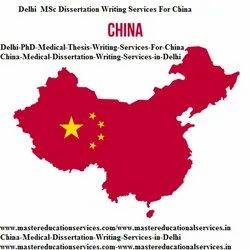 China  Medical  Dissertation Writing Services