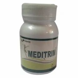 Meditrim Weight Loss Pill, 30 Capsules, Packaging Type: Bottle
