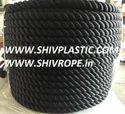 Black PP Rope Three Strand