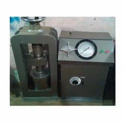 Electric Cube Testing Machine Dial Gauge Type