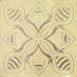 Mint Sandstone Medallion Designs 002