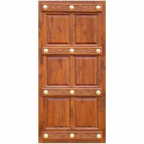 low cost b6638 8e48c Teak Wood Front Door