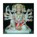 Marble Panchmukhi Hanuman Statur