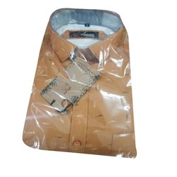 Cotton Regular Fit Mens Formal Shirt, Handwash