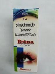 Brinzolamide 1% Ophthalmic Suspension