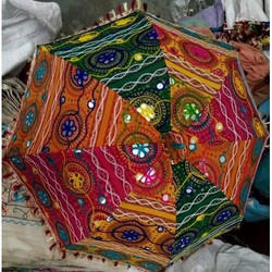 Rajasthani Embroidery Umbrella