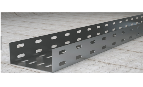 Steel Galvanized Coating Metal Cable Tray Size 50mm To