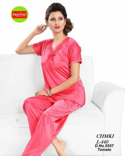 Ladies Night Suits - Ladies Elegant Night Suit Manufacturer from Mumbai 06862655a