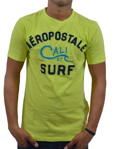 d5be033a8458 Causal Wear Plain Aeropostale Men Crew Neck T-Shirt Green, Rs 2221 ...