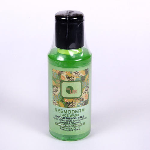 Neem Tulsi Herbal Neemoderm Face Wash, Packaging Size: 100ml, Age Group: Adults