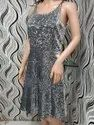 Female Sequin Stretchable Party Dress