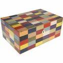 Rectangle Fancy Wooden Jewellery Box