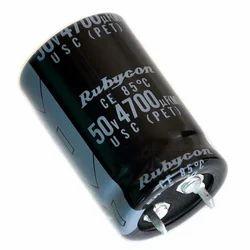 RUBYCON Electrolytic Capacitors