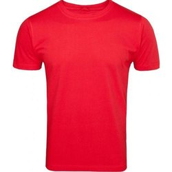 Mens Plain Half Sleeve T- Shirt
