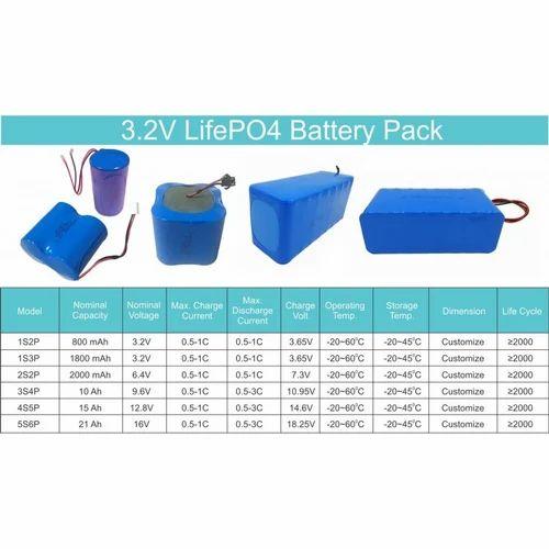 3.2v Lifepo4 Battery Pack