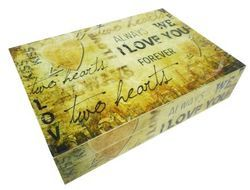 Wooden Wedding Gift Box