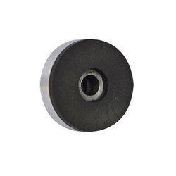 Black And Silver Carbide And Aluminum Lapping Disc
