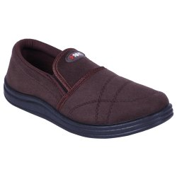 Daily Wear Men Casual Brown Shoe, Size: 5-10